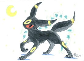 Umbreon by Celesime