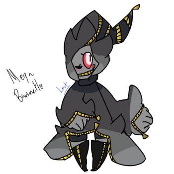 Mega Banette ( Human , for art contest ) by UnmangledMissMangle