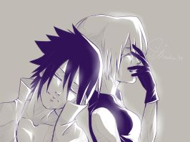 SasuSaku - That smile by KiraWan