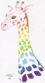This Giraffe's not gay, just supports by Sterling-Washington
