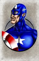 Captain America by halwilliams
