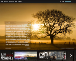 Photograph - Portfolio - Websitetemplate by Chiipzieqt