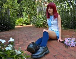 Kairi- Spring in Radiant Garden by leppa-berry