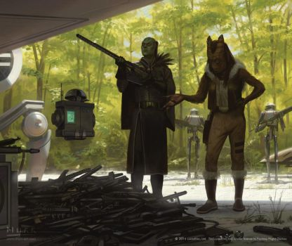 Star Wars: Edge of the Empire - The Patron by JakeMurray
