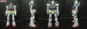 [KIM]RX-78-2 Gundam papercraft by daigospencer