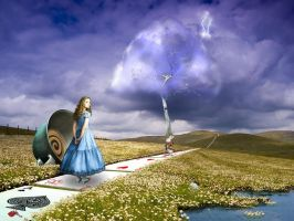The enigma of Alice by rlisboa