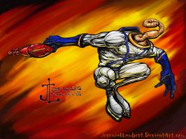 Earthworm Jim -June '12 Daily Art Jam- Day 25 by JeremiahLambertArt