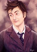 The 10th Doctor by Rhyara