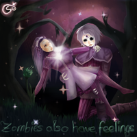 zombie love by Vollatina