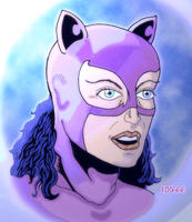 Portrait of a bad kitty by HK666