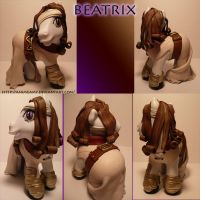 Beatrix Pony Final Fantasy IX by AnimeAmy