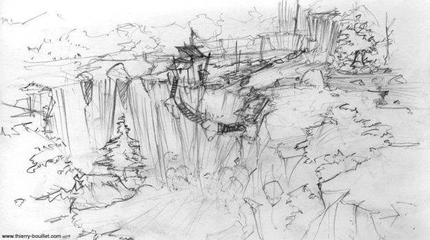 Waterfall - Rough by kiwi69100