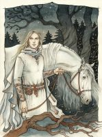 Commission - Glorfindel by liga-marta