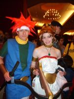 Crono and Marle Cosplay by cpi