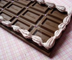 Chocolate Bar Deco Mirror by FatallyFeminine