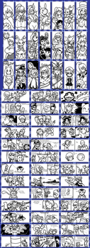 Miiverse doodles 7 P1 by Gregarlink10