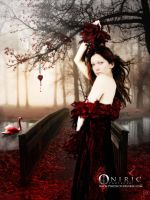 The Red Swan by ProyectoOniric
