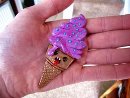 Screaming Ice-Cream by Creepy-Cute-Couture