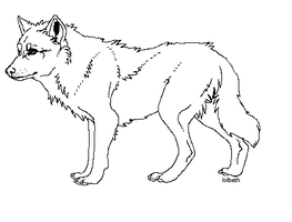 wolf template by lolbeth