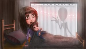 Alien Abduction - Part 1 by EmanuellaKozas