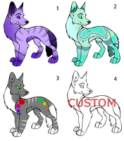 Canine Adoptables! From just 5 points! OPEN! by DailyAdoptables