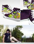 natural Flow Chucks by Bobsmade