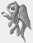 Fluttershy Sketch by Pawpr1nt