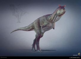 Carnotaurus. The Stomping Land. 03 by Swordlord3d