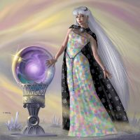 Mistress of Time by AlanGutierrezArt