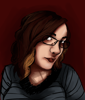 Finished portrait by Anisette-Star