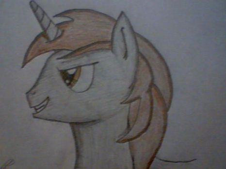 Rusty Spark hand drawn by HelixNarr