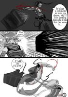 SDL temple duel page nine by Musashi-dono