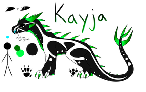Kayja Reference Sheet by Lamp-P0st