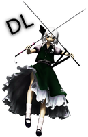 [MMD] Montecore Style Youmu .:DOWNLOAD:. by Len11999