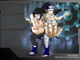 Masters Of The Byakugan by DustyMcg