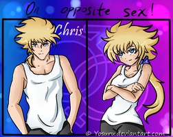 on opposite sex CHRIS!! by Yosuru