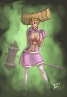 Princess Peach Redesign by 2BeanSoup