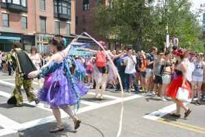 2015 Boston Pride Parade, Pride Pixie Streamers by Miss-Tbones