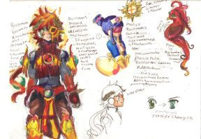 Reverse Apollo Soul Rockman concept by Squireprincess