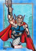 MARVEL 75th - THOR by JASONS21