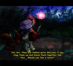 Pikmin: (Mock) Anime Screenshot -Delicious- by saiiko