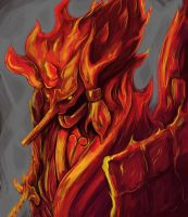 Madara's Susanoo by Silver-Fate