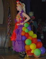 Skittles Dress by Lovely-LaceyAnn-Art
