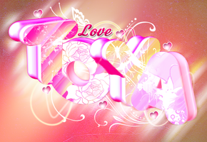 Love Toya '3D DESIGN' by nitoy