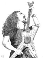 Dimebag Darrell- Free by Kelly-ART