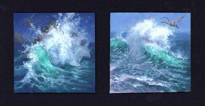 Wave #1 and #2 by RalphHorsley