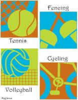 Olympic Pictographs - Colour by floweringgarlic