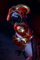 Queen of Pain by cibo-black-cat