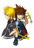 Ventus and Sora by rhapsody14