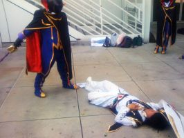 AX'11: Lelouch's Death by theEmperorofShadows